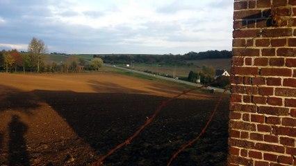 Pulvérisation désherbants à Ferrières en bray 25-10-2017