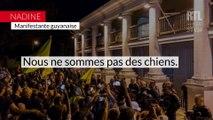 """""""Nous sommes traités plus bas que terre"""" : la colère d'une guyanaise lors de la visite de Macron"""