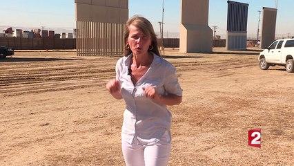 Les entreprises dévoilent leurs prototypes du mur avec le Mexique
