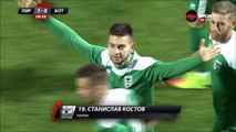 1-0 Stanislav Kostov Goal Bulgaria  A Grupa  Regular Season - 27.10.2017 Pirin Blagoevgrad 1-0...