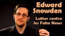 Edward Snowden  - La censure et l'esprit critique