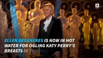 Internet criticizes Ellen DeGeneres for Katy Perry photo