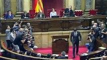 El Parlament declara constituida la República de Cataluña