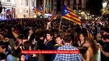 """Marti Anglada, délégué du gouvernement de la Catalogne à Paris : """"Je suis surpris"""" que Rajoy organise des élections dans moins de deux mois"""