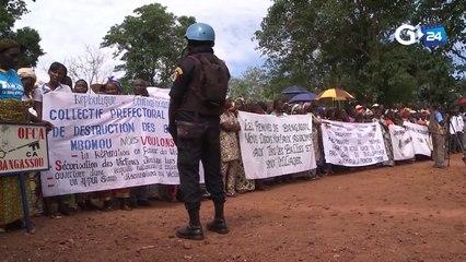 CENTRAFRIQUE - BANGUI DIALOGUE AVEC LES GROUPES ARMÉS PRIMORDIAL