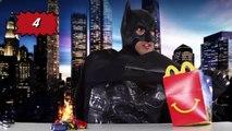 McDonalds Happy Meal Kids Hot Wheels Cars DC Comics Super Heroes Happy Meals Surprise Toys Batman-Sluo2b2-qzc