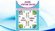 """Download PDF Paper Fortune Tellers!: 30  Fun """"Color-in"""" Fortune Teller Origami Cootie Catchers! FREE"""