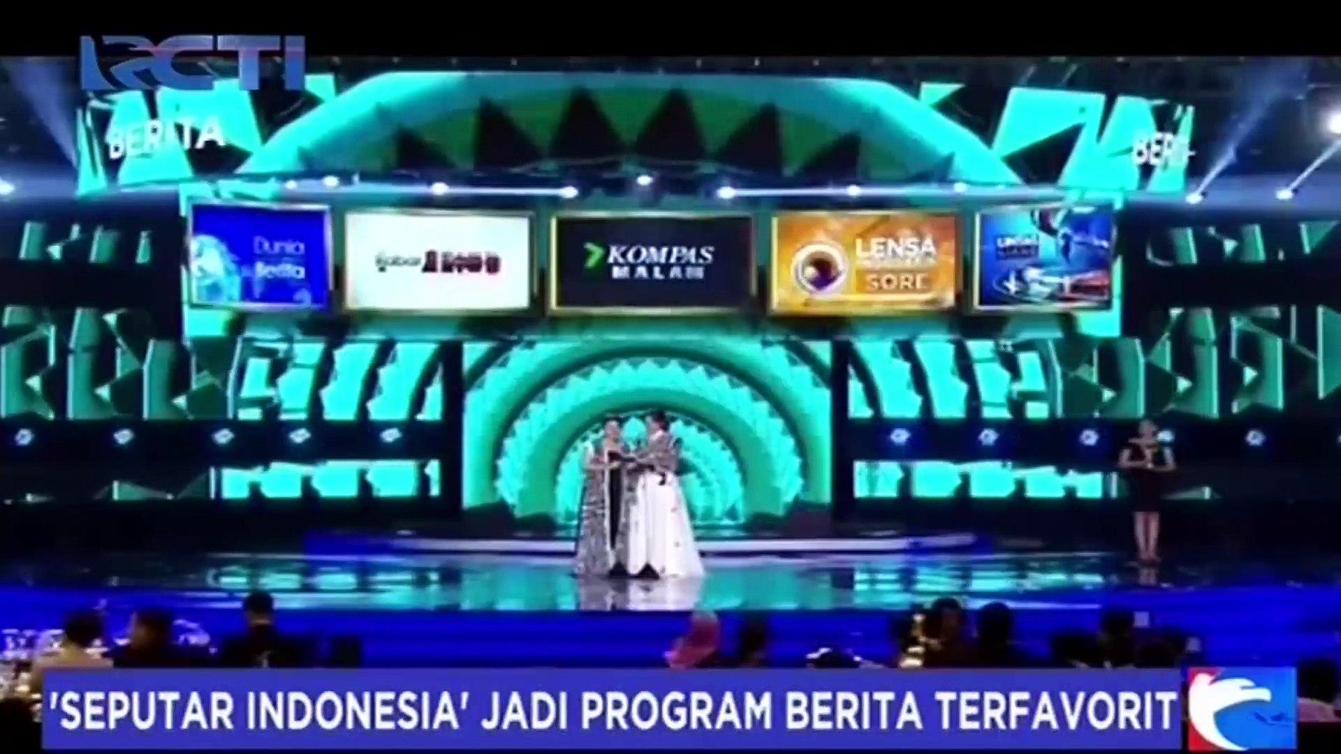 Seputar Indonesia Kembali Sabet Gelar Program Berita Terfavorit Di Ajang Panasonic Gobel Awards 2017 Video Dailymotion
