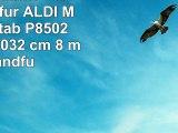 Qwertz Tastatur Tablet Tasche für ALDI Medion Lifetab P8502 MD 99814  2032 cm  8  mit
