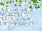 LUFA Home Decor Möblierung Artikel Mini Bank Holz Handwerk Ornamente Foto Requisiten