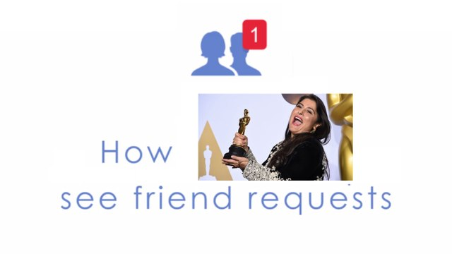 """How """"Normal"""" people see friend requests VS How """"Sharmeen Obaid-Chinoy"""" people see friend requests..."""