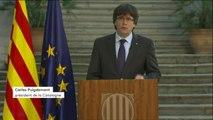 """Catalogne : """"Votre réaction est propre d'un pays mur qui sait où il veut aller et comment il veut y aller"""""""
