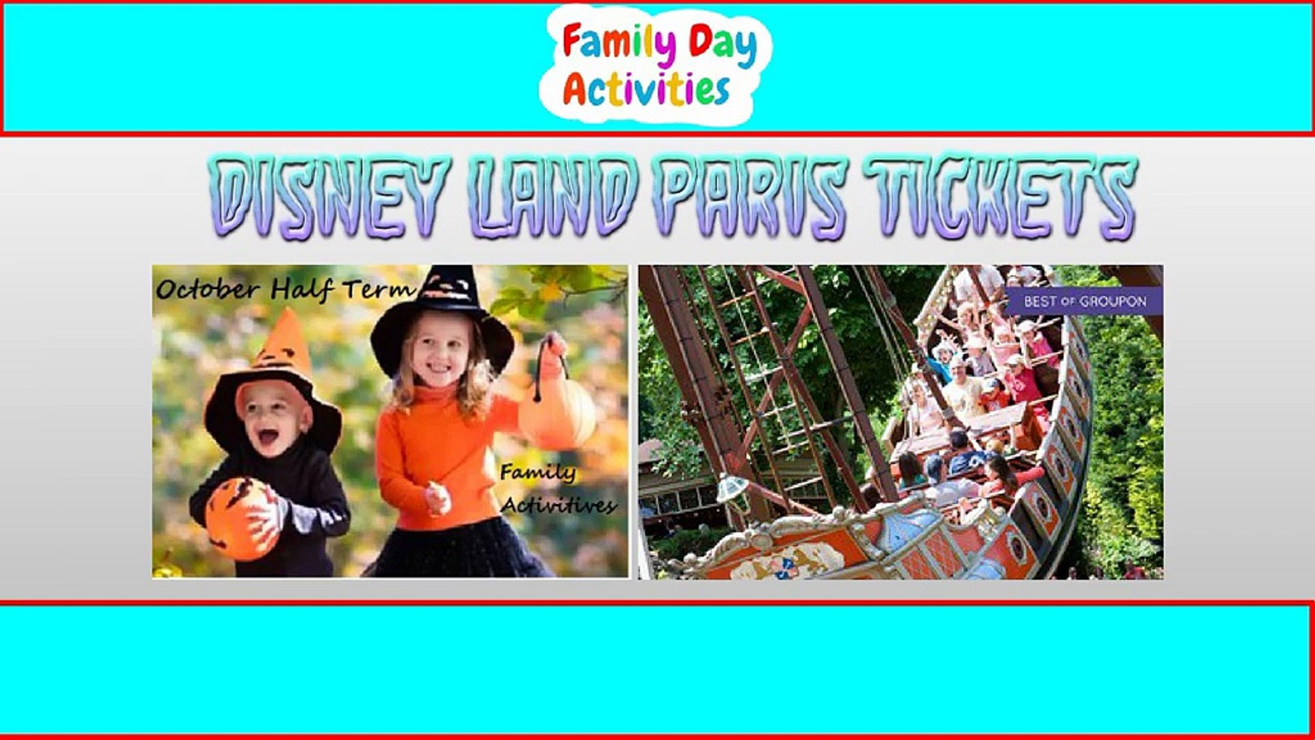 For Kids Days Out - Family Day Activities