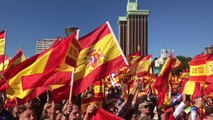 People's Party Members Attend Rally for Spanish Unity in Madrid