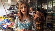 Rostros HispanoPost: Esther Perozo, una artista plástico que no cree en musas
