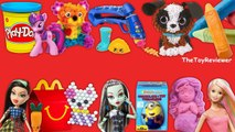 2016 DC Super Hero Girls McDonalds Happy Meal Toys COMPLETE SET 8 Unboxing Toy Review TheToyReviewer