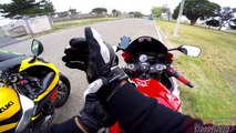 This Dude Is A Savage! | GSXR 600 vs GSXR 750