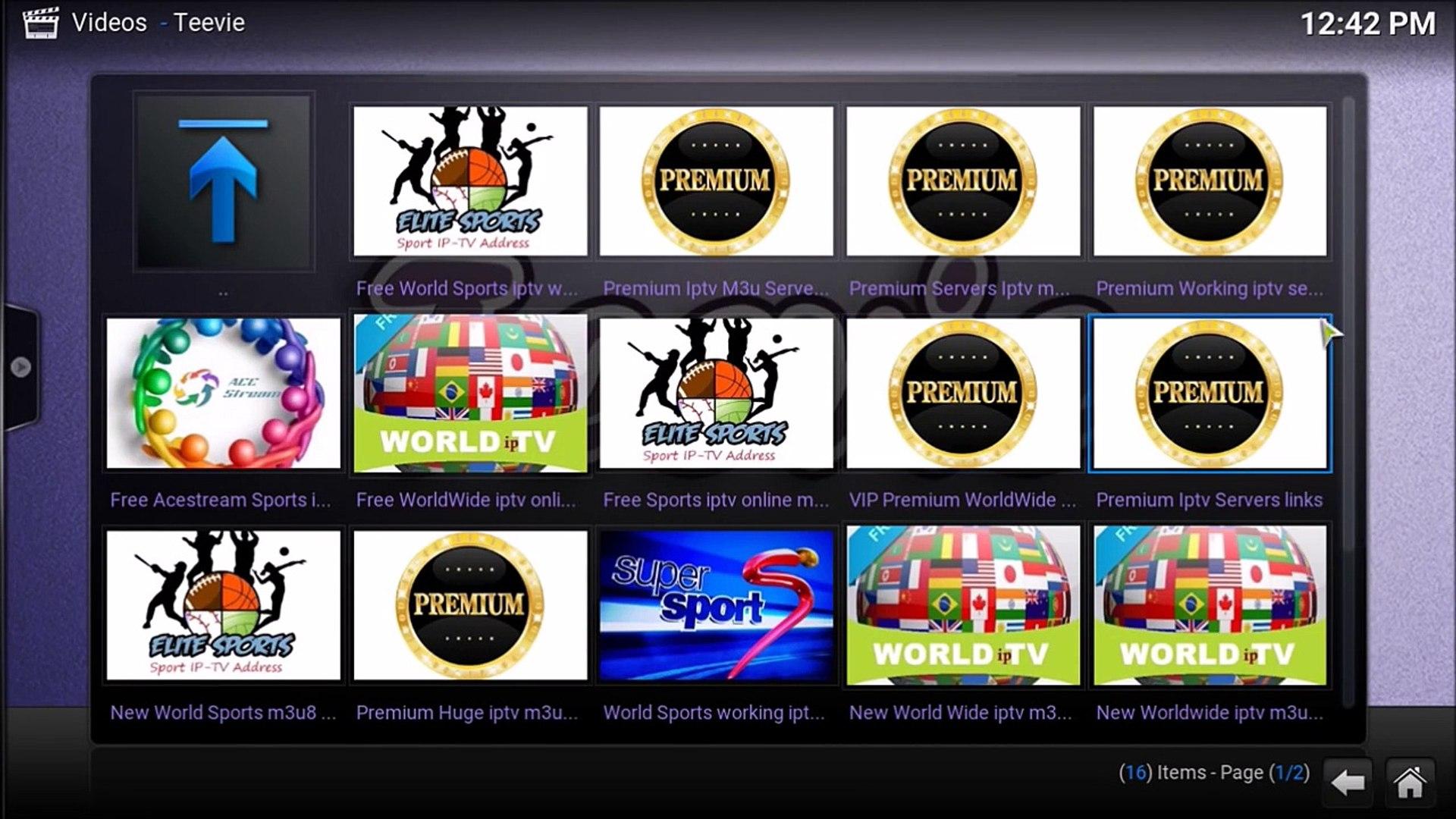 Teevie BEST IPTV on Kodi - Best for kodi 2017 - STALKER REPLACEMENT