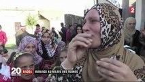 """""""Tout le monde attendait ce moment"""" : mariage haut en couleur au milieu des ruines de Raqqa"""
