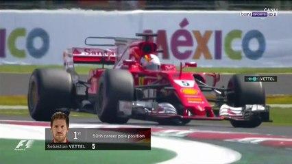 2017 Meksika GP - Vettel'in pole sonrası 'turbolu' sevinci