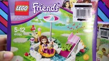 LEGO Friends Olivias Garden Pool Set and LEGO Friends Stephanies Pizzeria Set