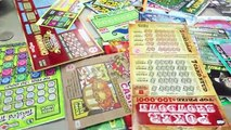 BUYING ALL THE LOTTERY TICKETS IN THE MACHINE. LOTTERY CHALLENGE!!!