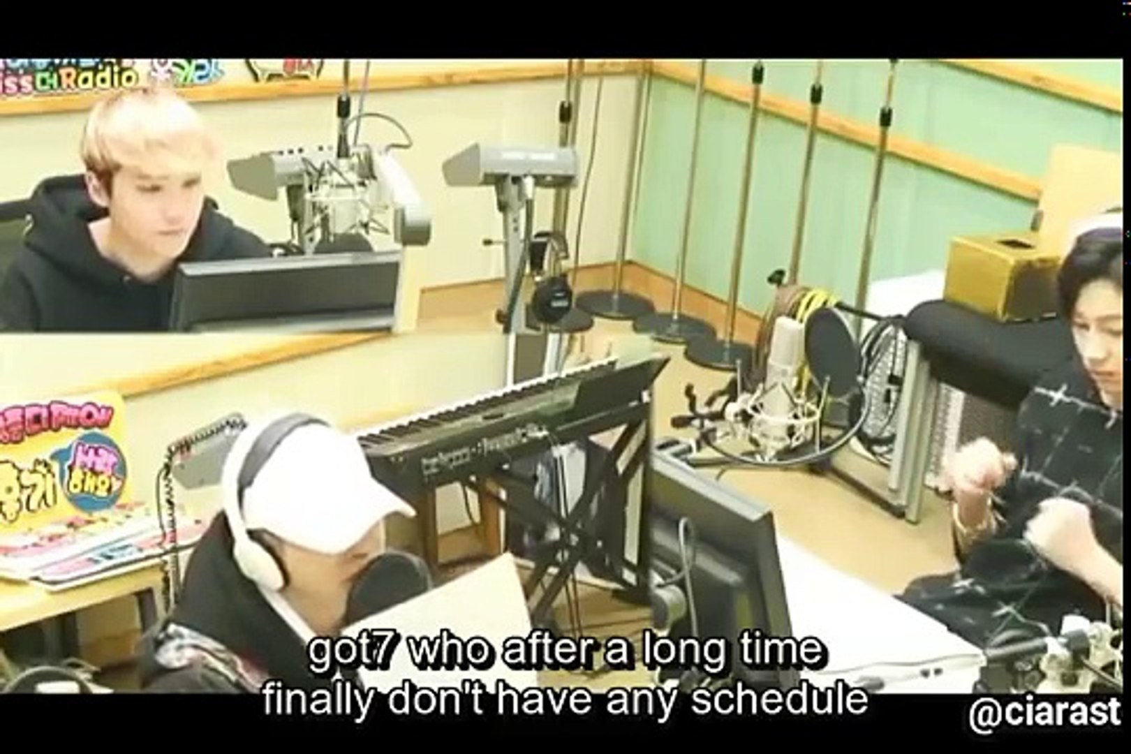 [ENG SUB] GOT7 Youngjae & Bambam, Lee Hongki's at Kiss the Radio Hongkira