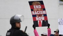 Counter protesters outnumber White Nationalists during 'White Lives Matter' rally in Shelbyville, Tennessee