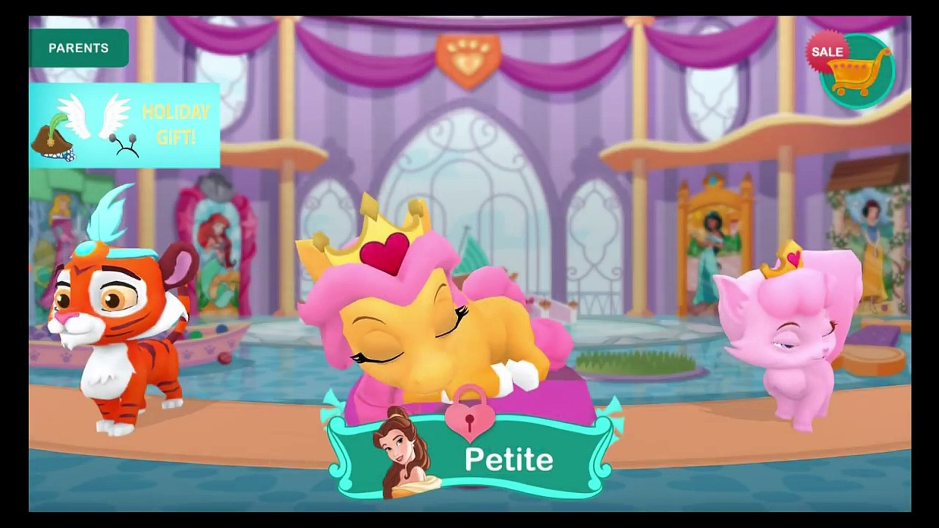 Palace Pets In Whisker Haven Disney Cuddle Time With Dreamy Best App For Kids Video Dailymotion