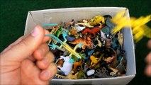Box Full of Toys: Jurassic Dinosaurs, Animals, Safari Animal, Fish, Reptiles, Dino Toy For Kids