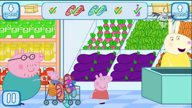 Lego Super Heroes Kids - Peppa Pig Shopping Trips Shoe Shopping With Daddy George