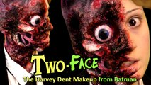 FX Maquillaje Dos Caras (Batman) / Two-Face or Harvey Dent - Halloween Makeup