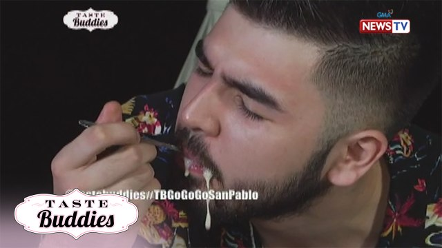 Taste Buddies: Andre Paras tries the 'Sexy Subo'