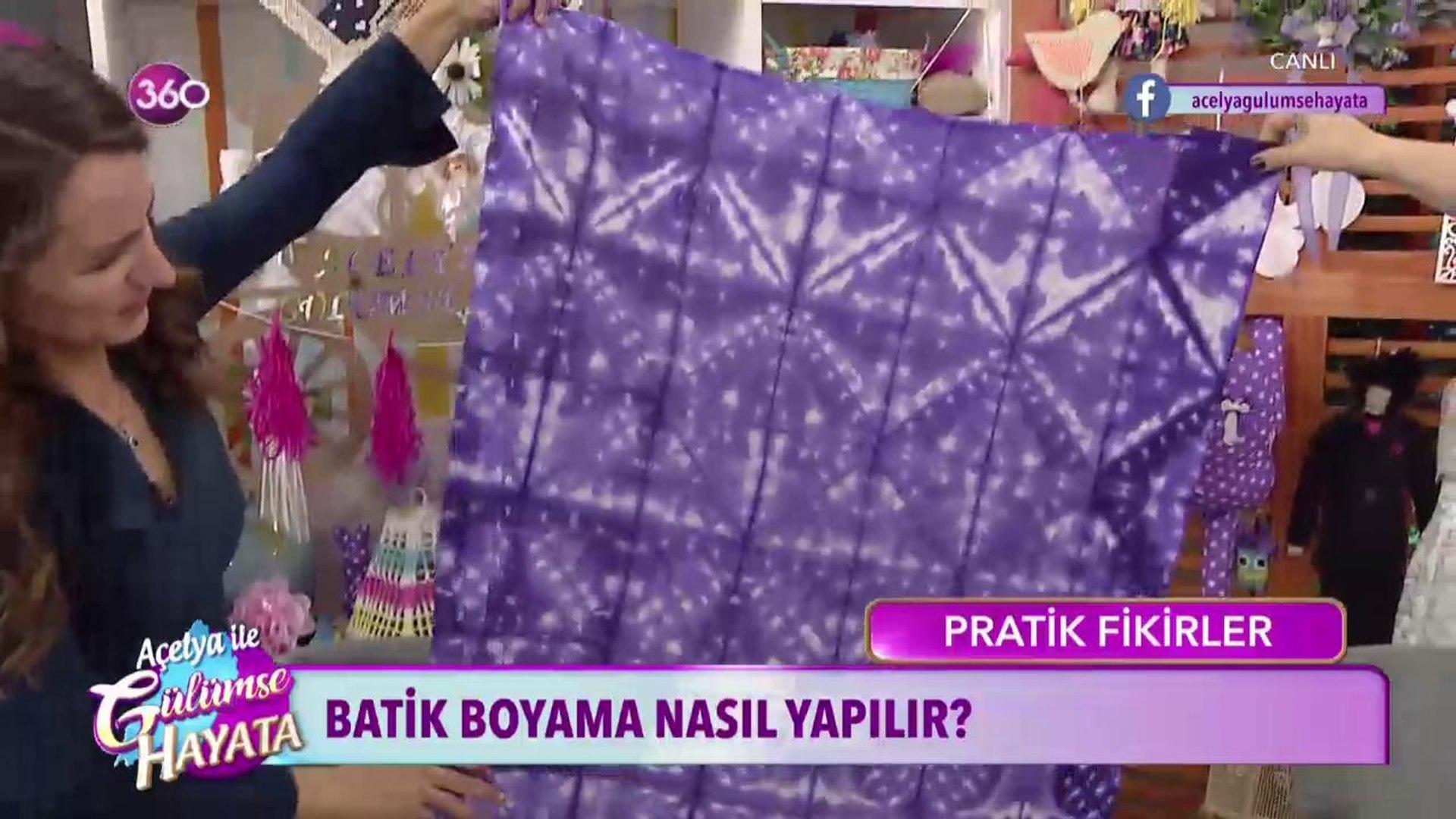 Batik Boyama Teknikleri Dailymotion Video