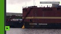 [Actualité] La Russie achève la construction de sa centrale nucléaire flottante à Saint-Pétersbourg