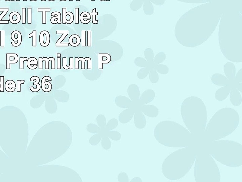 Emartbuy Sunstech Tab 92QC 9 Zoll Tablet Universal  9  10 Zoll  Baby Rosa Premium PU