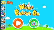 Baby Pandas Daily Life - What Babies Daily Do And Baby Daily Activities | Babybus Gameplay Video