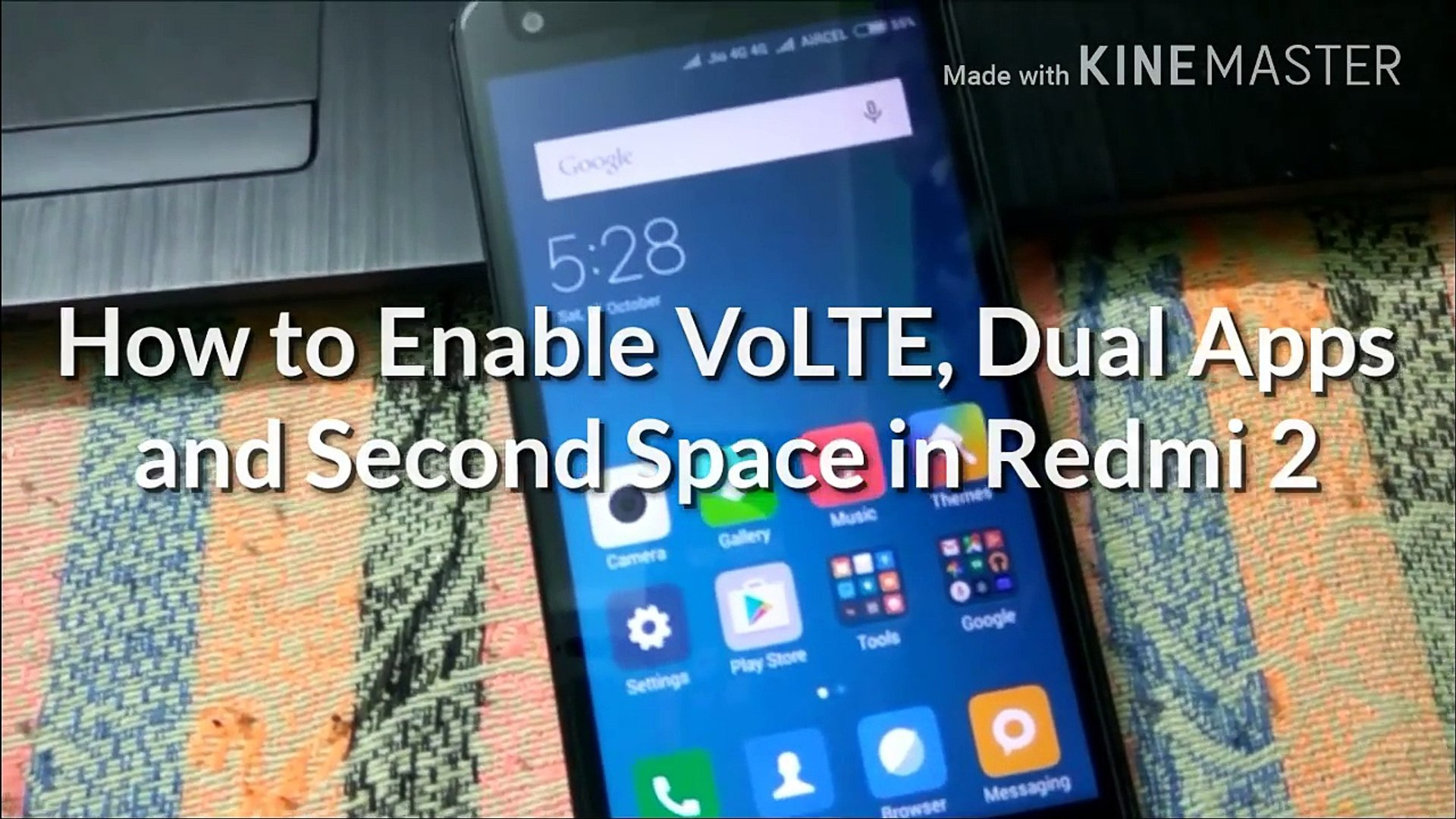 VoLTE in Redmi 2 For Jio 4G in Hindi (100% working) No Root Required