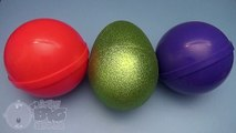Learn Colours with Surprise Nesting Eggs! Opening Surprise Eggs with Kinder Egg Inside! Lesson 36