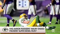 Could Colin Kaepernick Replace Packers' Aaron Rodgers After Injury  SI NOW  Sports Illustrated