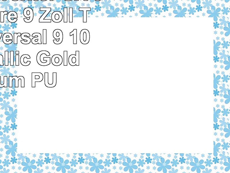 Emartbuy Woxter SX 90 Octa Core 9 Zoll Tablet Universal  9  10 Zoll  Metallic Gold