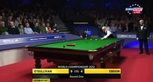 Ronnie OSullivan Wins After Peter Ebdons Snooker Suicide