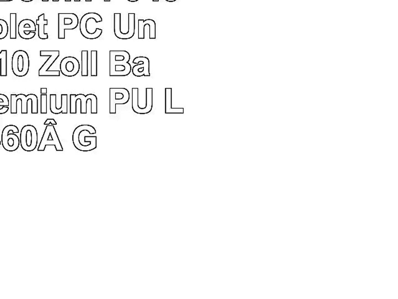 Emartbuy iBowin P940 9 Zoll Tablet PC Universal  9  10 Zoll  Baby Rosa Premium PU