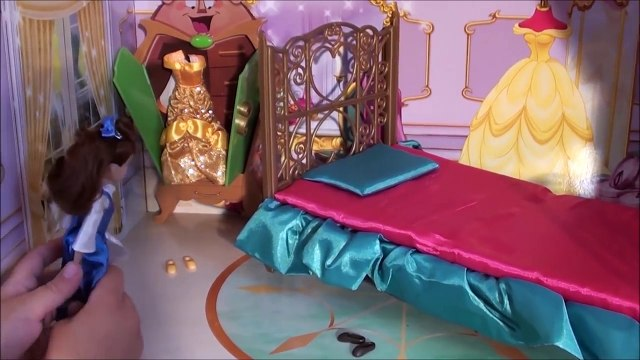 Beauty and the Beast: Beauty and the Beast Castle: Princess Belle Story, Princess Castle Toy Set
