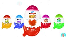 Colors Learn Kinder Joy Surprise Eggs Lollipops Learn colors with Kinder Eggs Toys For Children