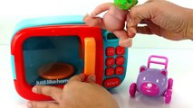 Learn Colors Hand Body Color Paint Finger Family Learn Colors with Baby Doll Microwave/Pretend Play