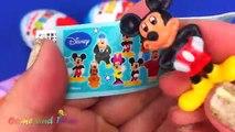 Super Surprise Eggs Kinder Surprise Kinder Joy Disney Mickey Mouse TMNT Tinkerbell Nursery Rhymes