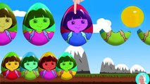 surprise eggs dora of Mobile Phones Learn colors with surprise eggs for kids