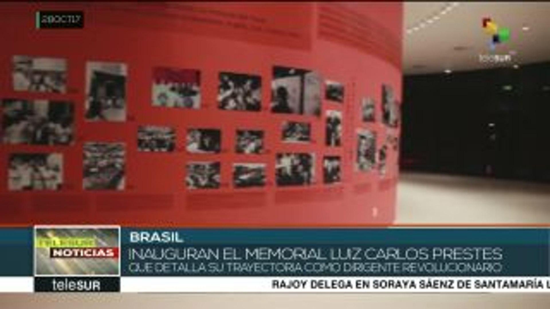 Brasil: Porto Alegre inaugura Memorial Luiz Carlos Prestes
