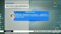 teleSUR noticias. Puigdemont pide defender independencia de Cataluña